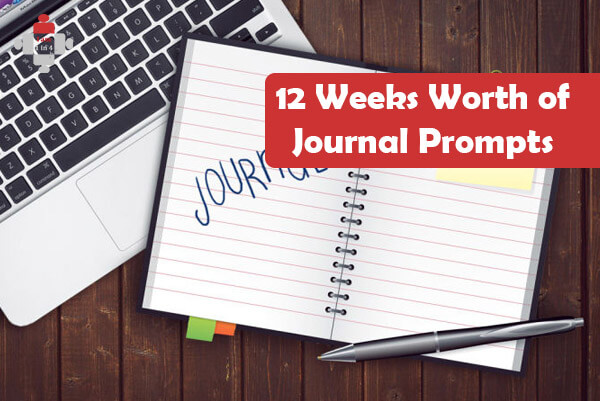 12 Weeks Worth of Journal Prompts