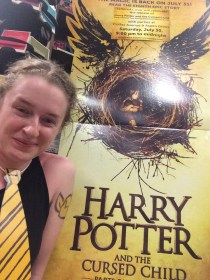 Midnight release of Harry Potter and the Cursed Child.