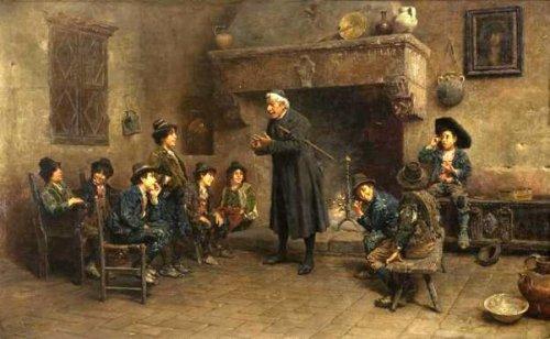 Francesco Bergamini 1815  1883 Italian  I AM A CHILD