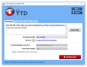 YTD Video Downloader Pro 5.9.18.4 Crack Full Serial Keygen