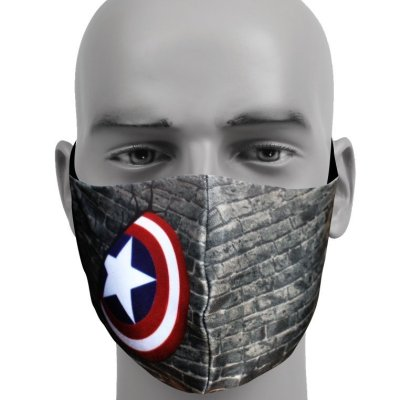 Capt America Kids – LIMITED EDITION – Mask with Filter
