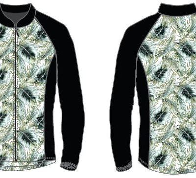 Feather design Run / Cycle Jacket