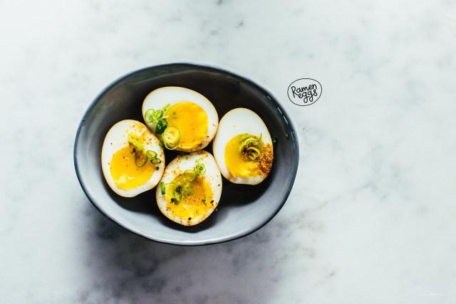 Ajitsuke Tamago: Japanese Soy Marinated Soft Boiled Eggs Recipe