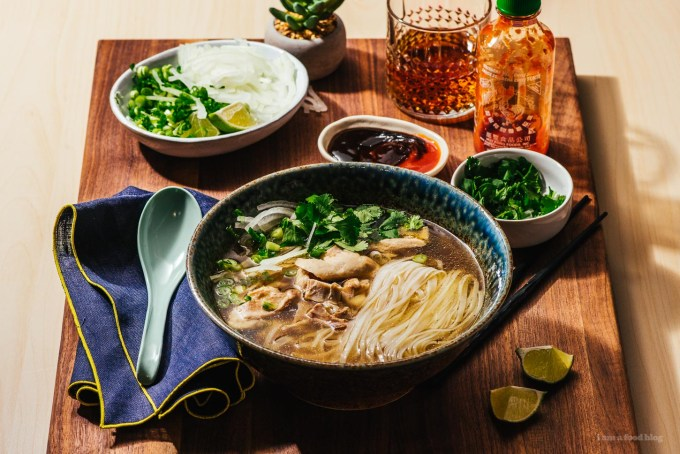 Authentic Instant Pot Chicken Pho Recipe   www.iamafoodblog.com