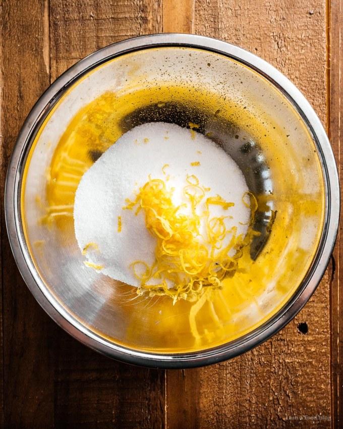 Small Batch Yogurt Lemon Poppyseed Loaf Recipe   www.iamafoodblog.com