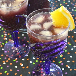 Blood-Red Wine Punch