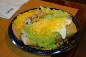 Filiberto's_Chimichanga Plate