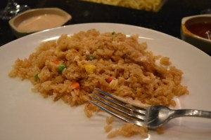 Osaka_hibachi fried rice