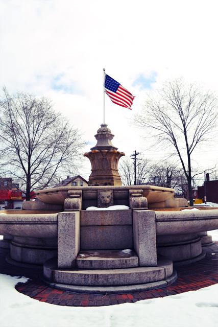 Chelsea MA_JJ Mahoney Rest Area_Fountain