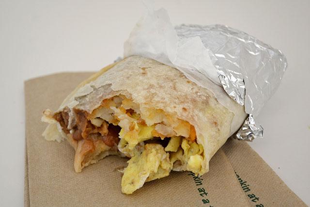pedro's tacos_bean egg burrito