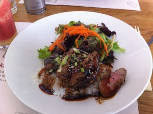 wagamama lunch