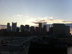 boston skyline sunset_01