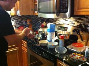 making beignets