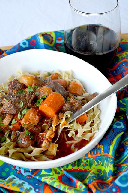 Slow Cooker Beef Burgundy Stew