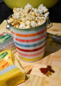 Cheesy Fiesta Popcorn