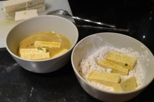 Crispy Tofu Tacos with a Mango Salsa-9