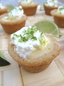 Key Lime Sugar Cookie Cups