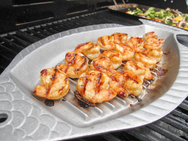 Citrus Apple Butter Glazed Shrimp-03