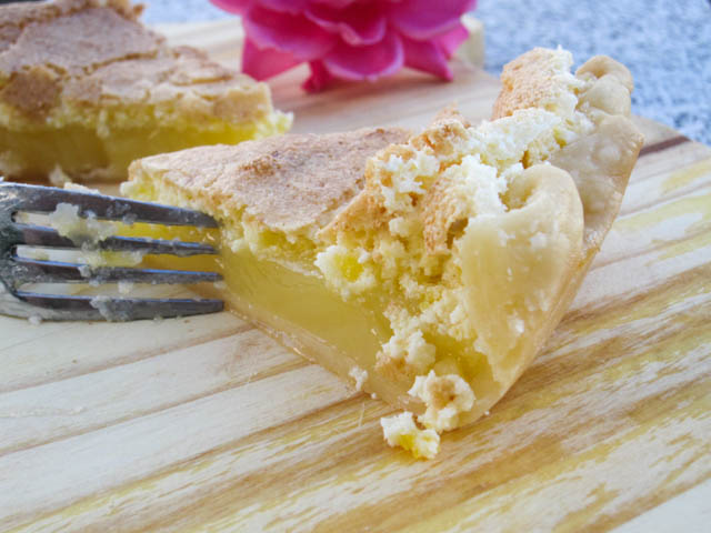 Lemon Chess Pie-1
