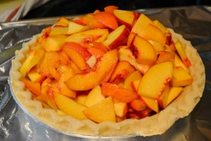 Streusel Topped Peach Pie-8