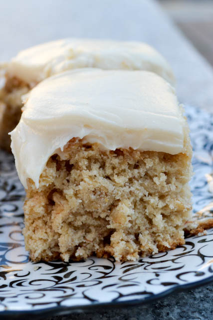 Peanut Butter Banana Bars with Frosting-3