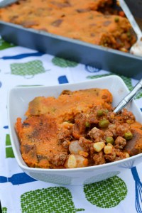 Sweet Potato Turkey Shepard's Pie-1
