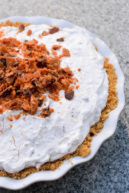 No Bake Butterfinger Pie-1