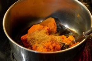 Walnut Pumpkin Dip with Pie Crisps-6