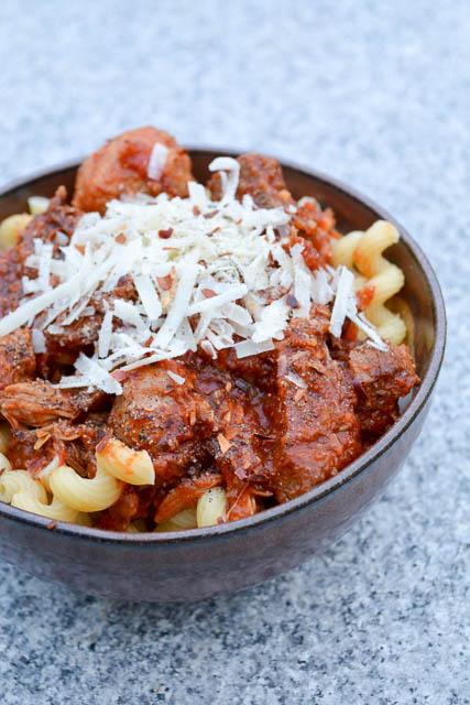 Four Meat Italian Gravy
