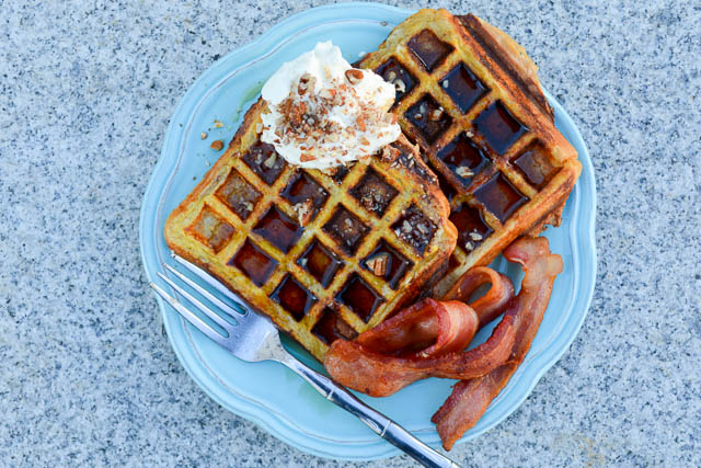 Waffled French Toast-1