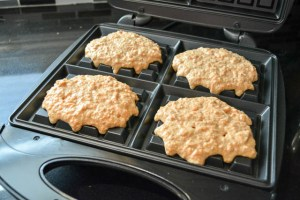 Whole Wheat Carrot Cake Waffles-9