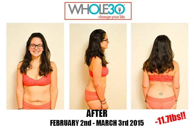 Nicole Whole30 Feb 2015 After