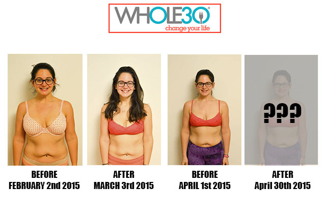 Nicole Whole30 Progress