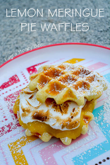 Lemon Meringue Pie Waffles