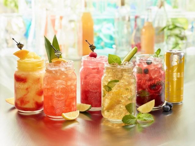 Hard Rock Summer Cocktails