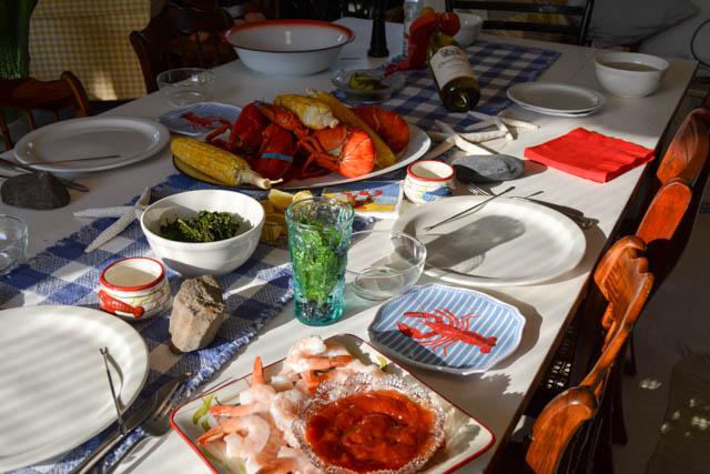 A Maine Lobsta Dinnah