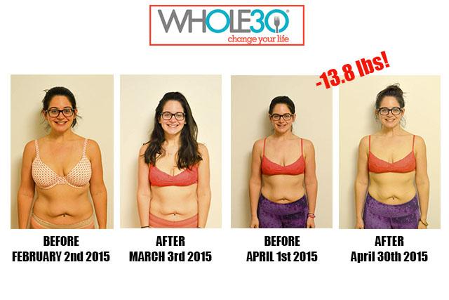 Nicole Whole30 Progress Post Whole30 2