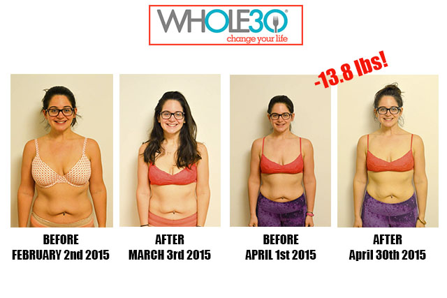 Nicole Whole30 Progress Post Whole30 2