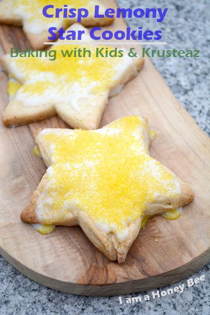 crisp-lemony-star-cookies-krusteaz