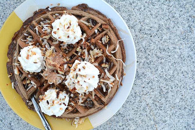 German's Chocolate Cake Waffles_03