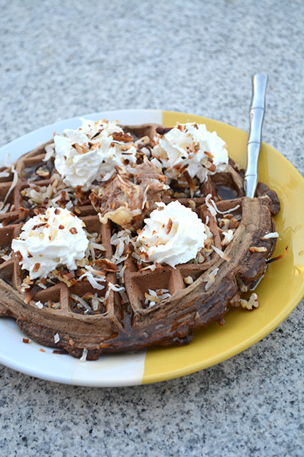 German's Chocolate Cake Waffles_04