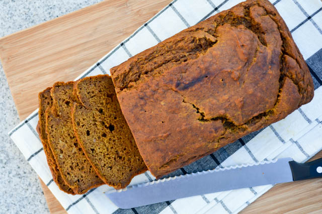 Pumpkin Banana Bread-1