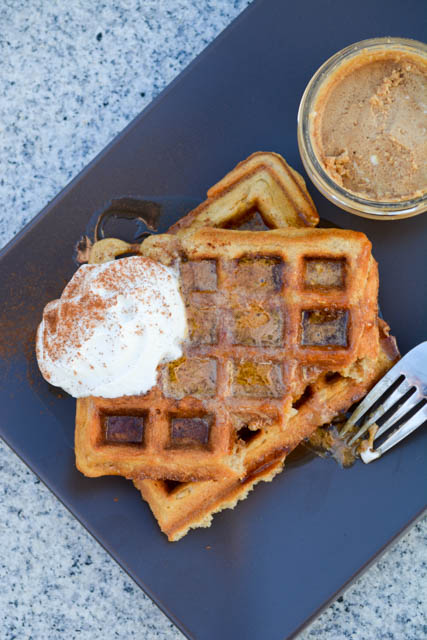 Oatmeal Waffle with Chai Infused Whipped Butter-4