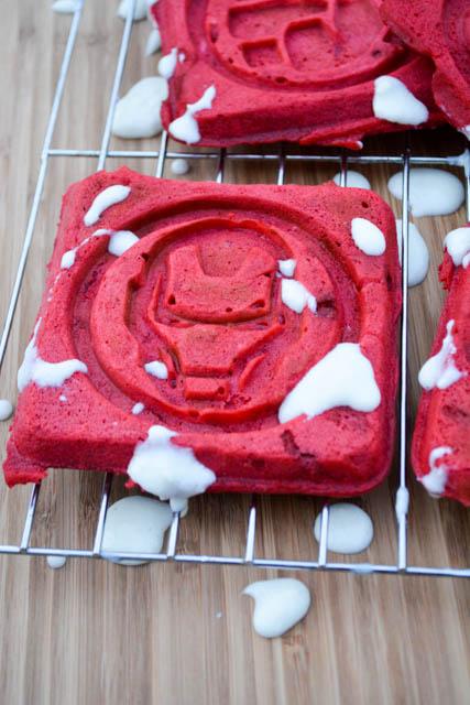 Red Velvet Waffles -2