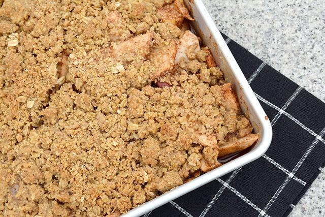 Oatmeal Cookie Apple Crisp_1