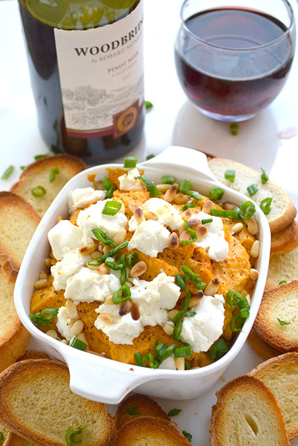 Roasted Butternut Squash and Goat Cheese Dip
