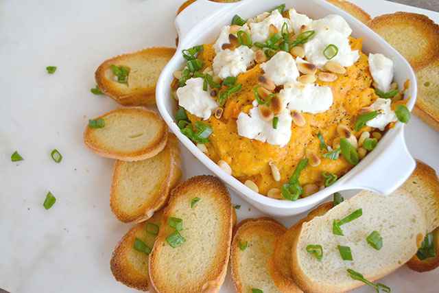 Roasted Butternut Squash and Goat Cheese Dip_01
