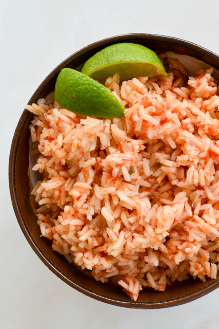 Restaurant Style Mexican Rice-04