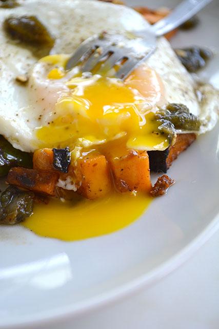 Chorizo and Sweet Potato Breakfast Hash_02