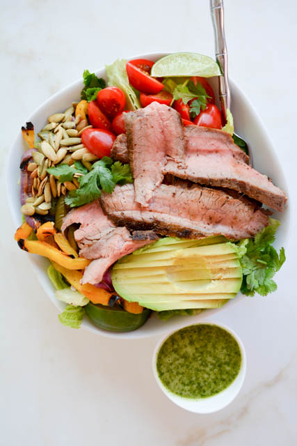 Grilled Steak Fajita Salad_03